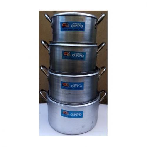 Set Of 4 Cooking Pots