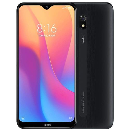 Redmi 8A, 6.22 Inch 2GB RAM, 32GB ROM, Camera 12MP + 8MP, 4G, Dual SIM - Black