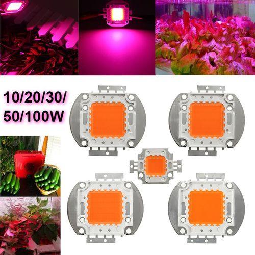 10x100W 30-36V 3500MA Full Spectrum High Power LED Chip Grow Light