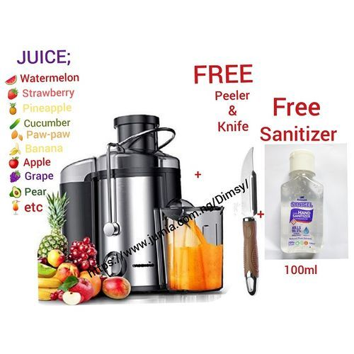 Electric Multi Fruit Juice Extractor Machine For Healthy Living