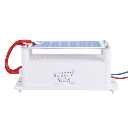 220V 5g/h Portable Ceramic Plate Ozone Generator Ozonizer Sterilizer Air Water Purifier