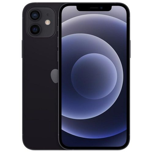 IPhone 12, 6.1-Inch 64GB ROM 5G LTE Dual SIM - Black