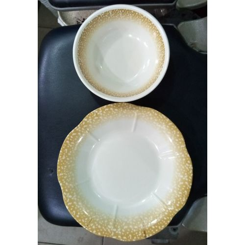 6 Set Unbreakable Plate And Bowl