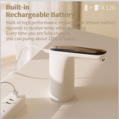 Xiaomi Automatic Touch Switch Water Pump Wireless Rechargeable Electric Dispense