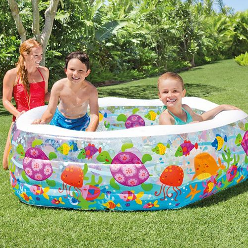 Home Hard Leather Swim Center Ocean Reef Inflatable Pool
