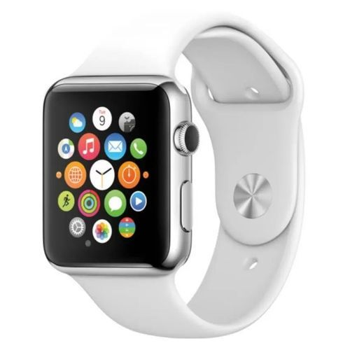 Smart Watch Phone With GSM GPRS Pedometer Tourchscreen Bluetooth Wristwatch White