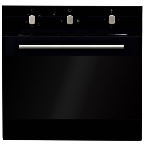 61L Multifunctional Gas/ElectricCombo Oven (Manual Control) - Black