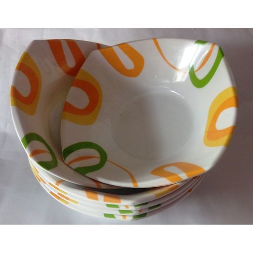 Unbreakable Ceramic Plates - White