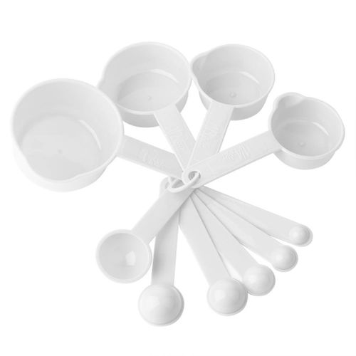 10pcs / Set Measuring Cup Spoon Kitchen Cooking Teaspoon Measuring Spoon Cups Measuring Tools