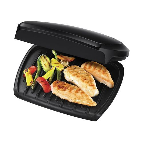 5-Portion Entertaining Variable Temp. Family Health Grill