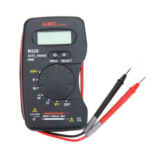 AIMO M320 Pocket Size Handheld LCD Digital Multimeter DMM