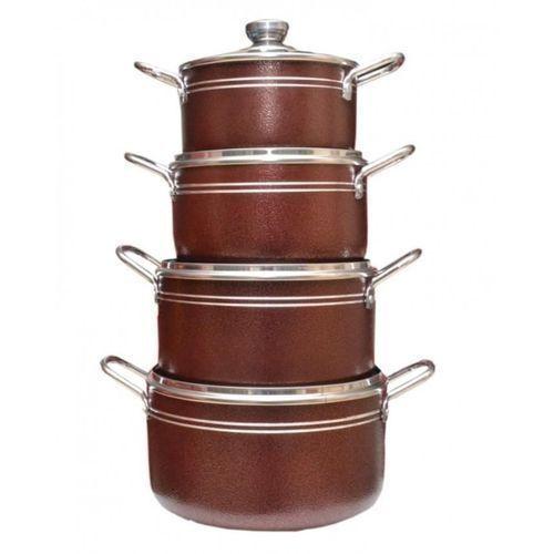 8pcs Alluminium Cookware Set