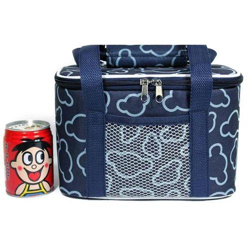 Outdoor Picnic Bag Bag Lunch Box Board Preservation Factory Wholesale # Dark Blue