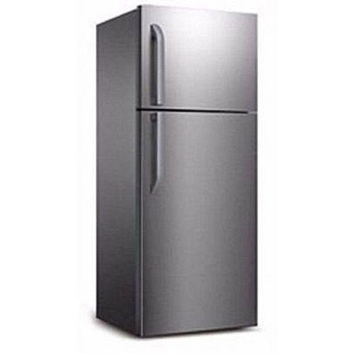 302 Litres Double Door Silver Refrigerator - Fridge & Freezer