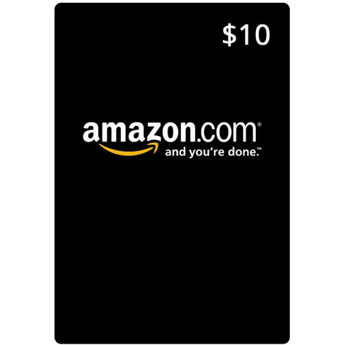 10 $ AMAZON.COM Gift Cards Store For USA