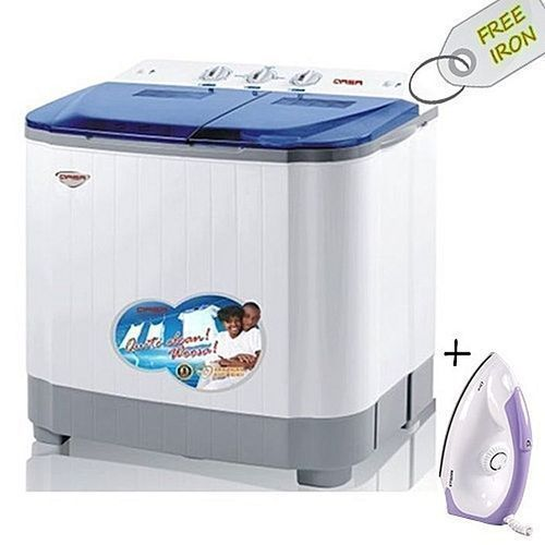 Washing Machine 8.8kg + Free Iron