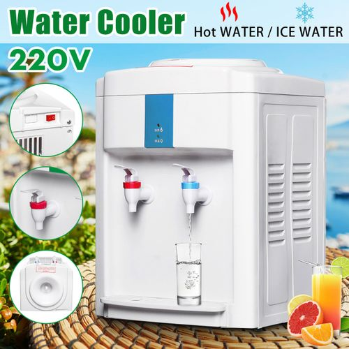 3-5 Gallon Electric Hot/Cool Water Cooler Dispenser Desktop 220V
