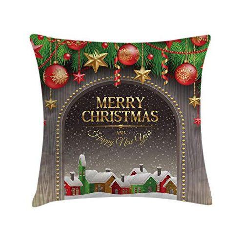 Christmas Rocks Throw Pillows-1 Piece