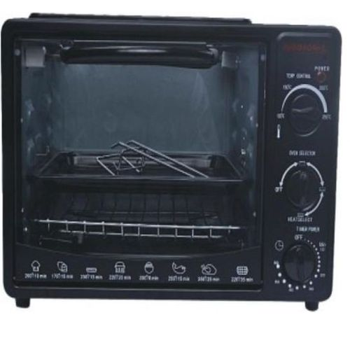 19L Electric Oven With Barbeque Function - - Black