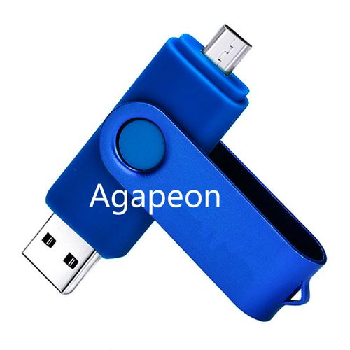 64GB Ultra OTG Dual USB Flash Drive 3.0 - Blue (only For Android)