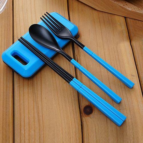 1 Set Portable Dinnerware Set Plastic Tableware Set