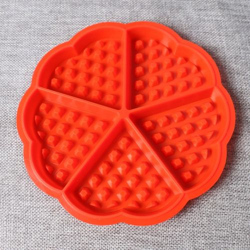 Premium Silicone Heart Shape Waffle Maker For Kids DIY Cake Mold