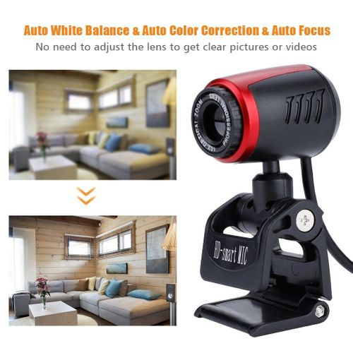 USB2.0 With MIC 16MP HD Webcam Web Camera Cam 360° For Computer PC Laptop For Skype / MSN