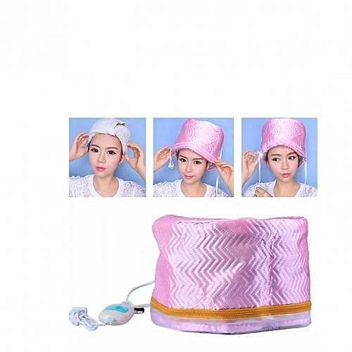 Electric Heating Dryer Waterproof Hair Care Steamer Beauty Cap For SPA Nourishing , Salon And Home Use