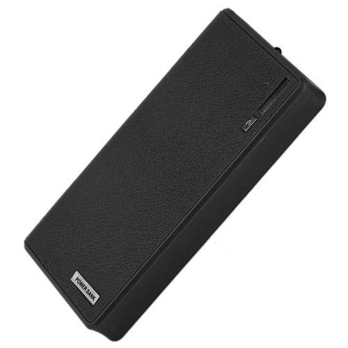 18000MAH USB External Power Bank Battery Powered Charger For Smart Phones Black