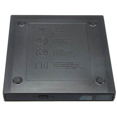 USB 2.0 External DVD ROM Player Reader CD?RW Combo Burner Drive Laptop PC