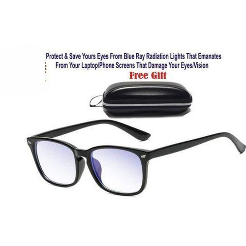 Life Saving Unisex Blue Light Blocking Glasses For Computer Users,Anti Eyestrain UV Filter Lens