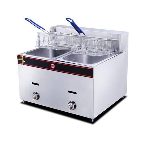 GAS DEEP FRYER DOUBLE BASKET