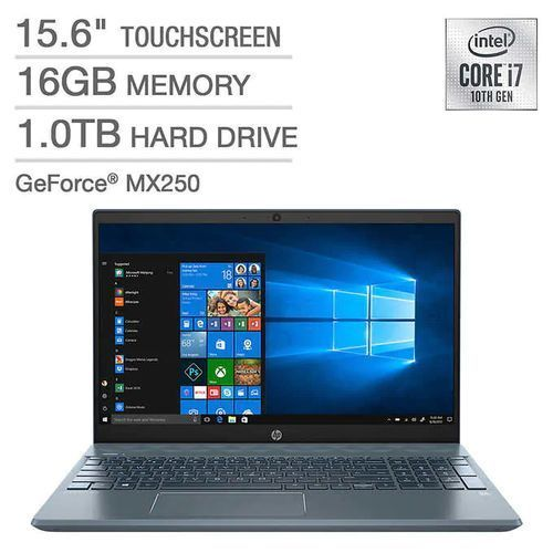 Pavilion 15 Intel Core I7 1TB HDD 16GB RAM WITH Nvidia Graphics Touch/Backlit Keyboard Win10