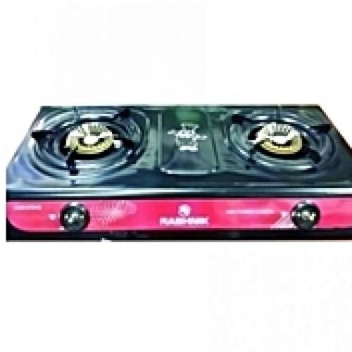 Kitchen (Automatic Lighter)Tabletop 2-Burner Gas Cooker