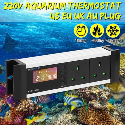 Digital Reptile Heat/Cool Incubator Thermostat Aquarium Temperature Controller(EU Plug)