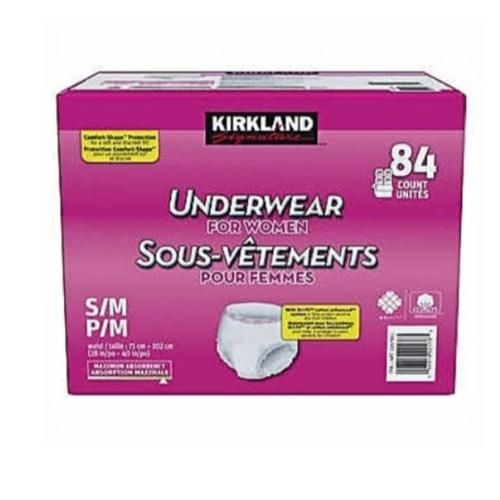 Adult Underwear/ Diapers For Women Small/ Medium ( 84 Count)
