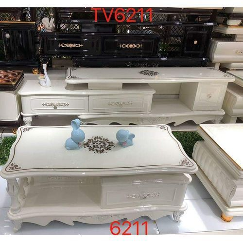 Durable Glass TV Stand And Table With Drawrs