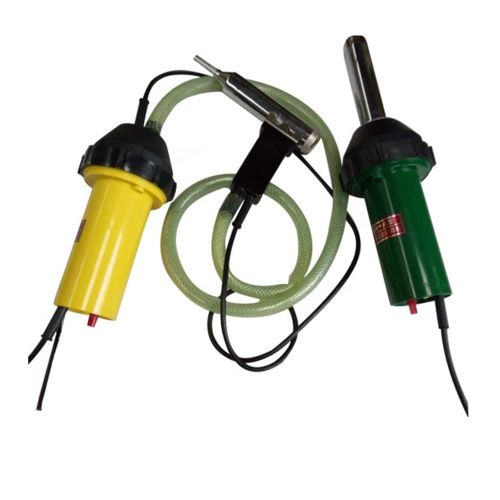 Hot Air Gun Thermostatic Plastic Welding Torch 1000w Pp Durable Green