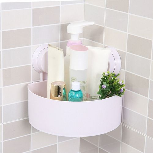 3 Sets Strong Suction Triangle Rack Washroom
