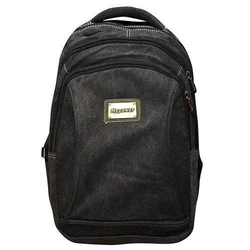 Travel Laptop And School Backpack Bag - Black
