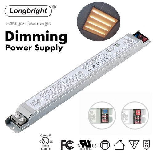 Longbright 3-IN1 100-277V AC 60W Grille Light Power Driver Lamp