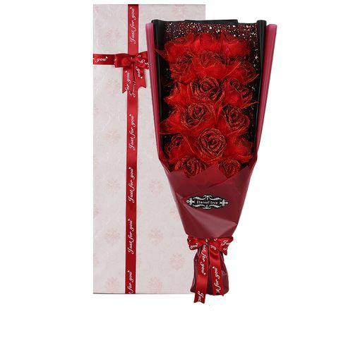 Rose Artificail Flower Eternal Love Gift - Blue