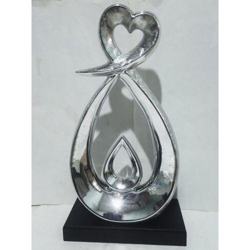 Silver Center Table Figurine