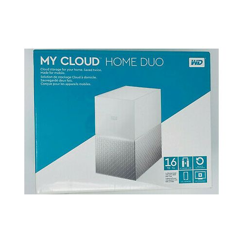 WD My Cloud Home Duo (16TB) Network Attached Storage Device