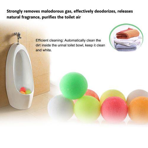 5Pcs Naphthalene Moth Balls Deodorization Descaling Toilet Cleaning Tool