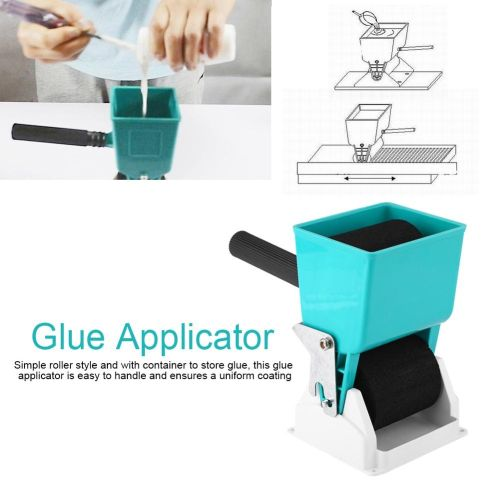 "180/320mL 3"" 6"" Portable Handheld Glue Applicator Roller Manual Gluer For Carpenter Woodworking Dropship"