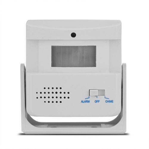 Wireless Door Bell Guest Welcome Alarm PIR Motion Sensor Security Doorbell Infrared Detector