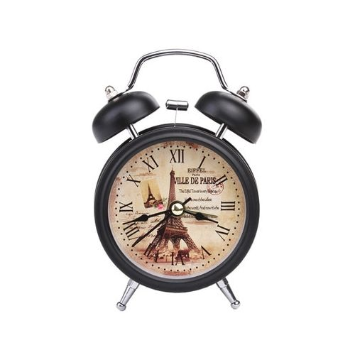 Travel Quartz Plastic Alloy Clock Cute Portable Home Decor
