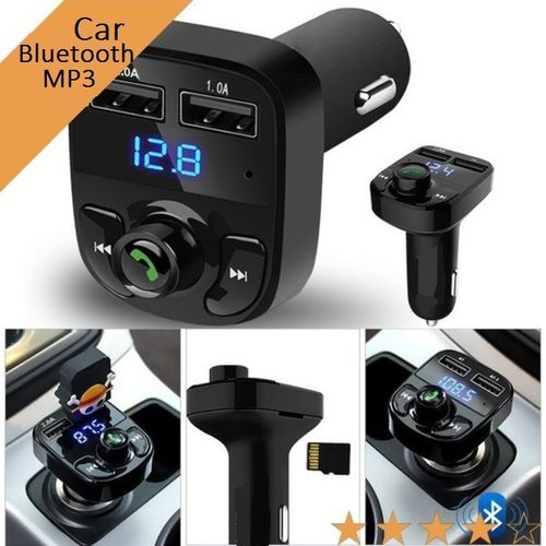 Car Bluetooth MP3 & Phone Call Handsfree Kit, Phone Charger, FM Transmitter & Music Adapter