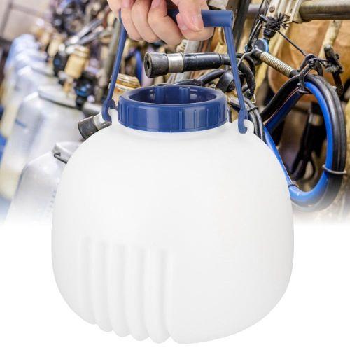 8L Plastic Cow Goat Sheep Milker Separation Tank Jar Dairy